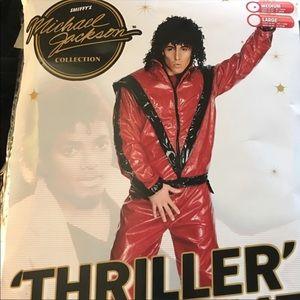 Michael Jackson Adult Thriller Halloween Costume